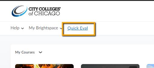 Quick Eval link